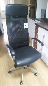 Markus ikea high back chair very good condition