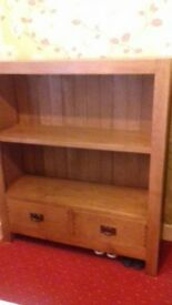 Solid Oak Book Case