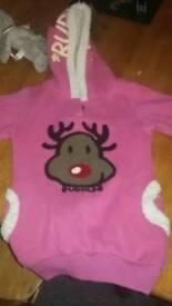 Girls 8/9 Christmas jumper