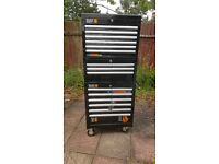 Halfords industrial 15 Drawer Tool Chest / Cabinet / Box