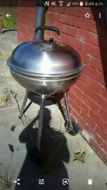 bbq silver large family size