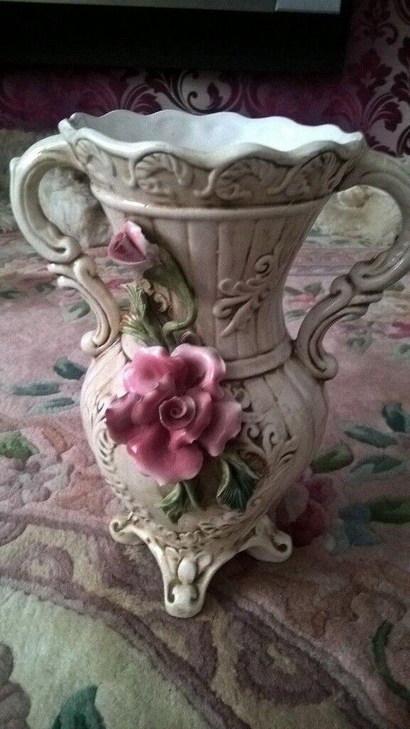 Capodimonte Vase Some Damage In Durham County Durham Gumtree