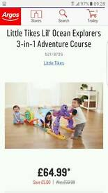 Little tikes 3 in 1 ocean adventure