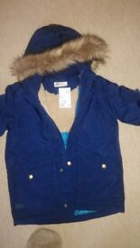 **Brand new boys H&M Coat - age 5/6 years**
