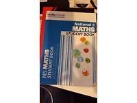 National 5 Maths Student Book