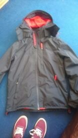 Mens Superdry coat size L