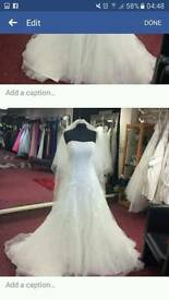 new eternity wedding dress size 14