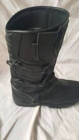 Motorcycle boots size 13