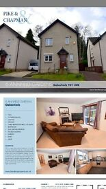 Detached 3 bedroom house for sale Galashiels