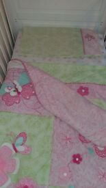Bella Kidsline Cot Bed Set