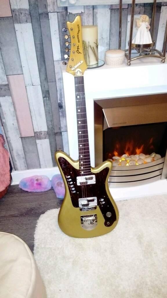 Trade   Vintage Goya Rangemaster guitar 1960s | in Airdrie, North  Lanarkshire | Gumtree