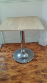 Coffee Square Table Ideal for cafe or home shop 60cm x 60cm (x 3 available)