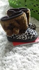 Small girls UGG BOOTS size 6