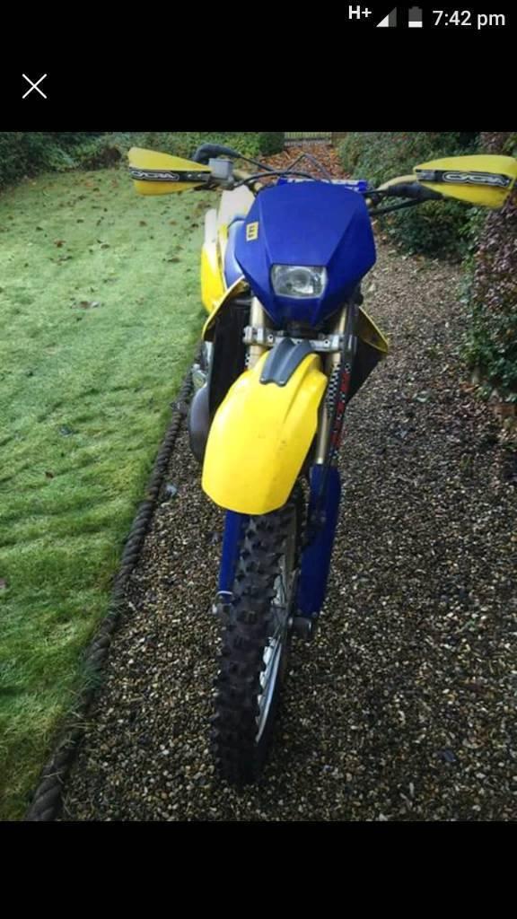 Husqvana wr 250 cc enduro ,ktm ,gas gas