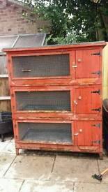 Red Rabbit hutch