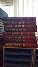 World war 2 collection of hardback Books