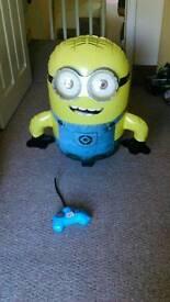 Remote control inflatable minion + freebie