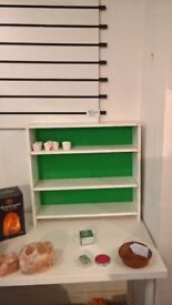 Small shelving unit - perfect to go on a desk