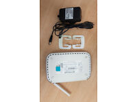 NETGEAR Wifi Router WGR614v9 54 Mbps 10/100 Wireless G Router