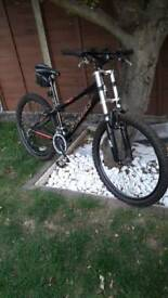 Black Mountain Bike Silver fox Bad Attitude Excellent