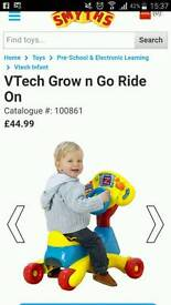 Vtec grow and go ride on