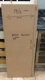 MDF board for loft boards or shelving ect 490 x 1220