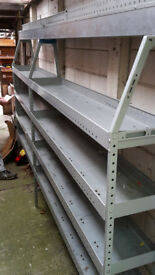 Internal shelves/racks Renault Master / Vauxhall Movano / Nissan Interstar MWB high roof