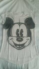 2 Mickey Mouse T-Shirts