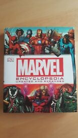 New DK Marvel Encyclopedia Updated and Expanded Large Hardback Book
