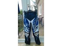 ALPINE STARS MOTOCROSS TROUSERS AND TOP
