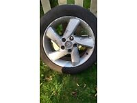 """16"""" alloy whell fits Mazda and some other makes possibly with 5 wholes mounting"""