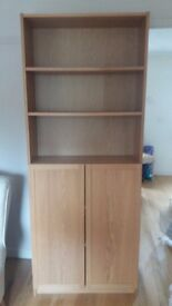 Ikea Billy Bookcase / cabinet with doors