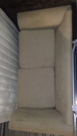 sofas bed in good condition, slight marks on one armrest.