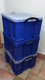 REALLY USEFUL 42 LT STORAGE BOX WITH LIDS