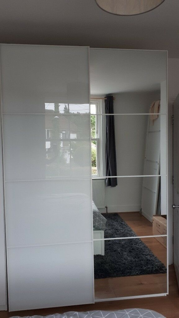 Ikea Pax Wardrobe Sliding Doors Without Wardrobe Frames