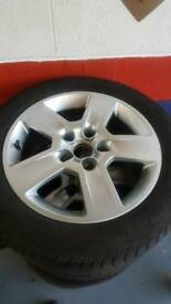 Audi a4 vw alloy wheels tyres