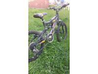 boys silverfox bike gears suspension 20inch