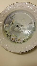 Cat wall plate