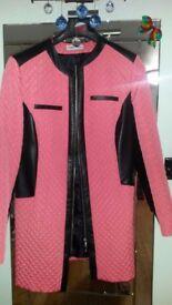 Ladies coat, size 14.
