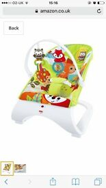 Fisherprice woodland bouncer chair