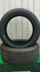 205 45 17 firestone runflat tyres