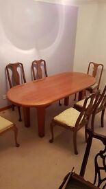 Bespoke Dining Room Table & 8 Chairs