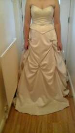 DESIGNER WEDDING/PROM DRESS