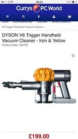 DYSON V6 **Brand new in sealed box**2 years warranty