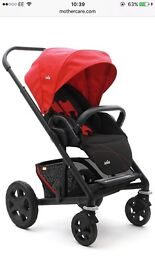 Joie pushchair in red