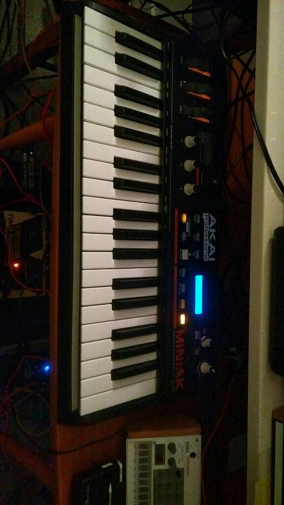 AKAI Miniak synthesizer