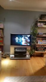 "38"" Panasonic Plasma TV with Stand & DVD Recorder"