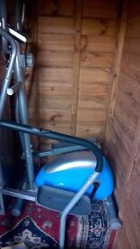 womans/girls cross trainer in blue make kirsty in good condition