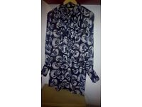 CRAFTED LADIES LONG SLEEVED BLOUSE