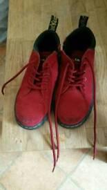 Boys Dr Martians boots